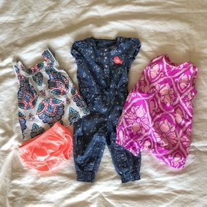 Bundle of 3 Carter's Outfits- 3 mo.